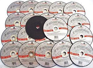 "100 GOLIATH INDUSTRIAL 3"" AIR CUT OFF WHEELS DISCS 1/16 DOUBLE REINFORCED CW3116"