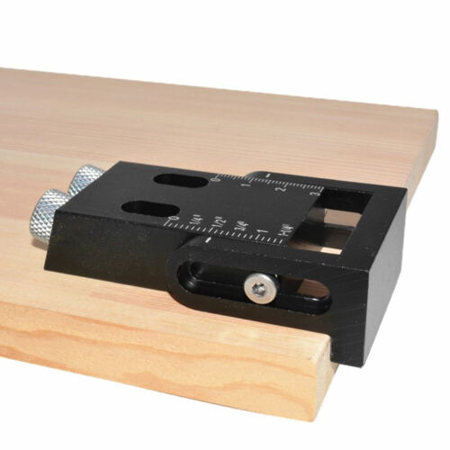 Pocket Hole Jig Kit 6//8//10mm Angle Drill Guide Woodworking Tool Carpentry Tools