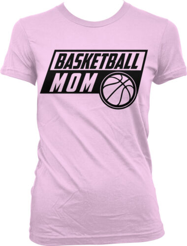 Basketball Mom Parent Mother Mommy Child Kid Team Coach Plays My Juniors T-Shirt