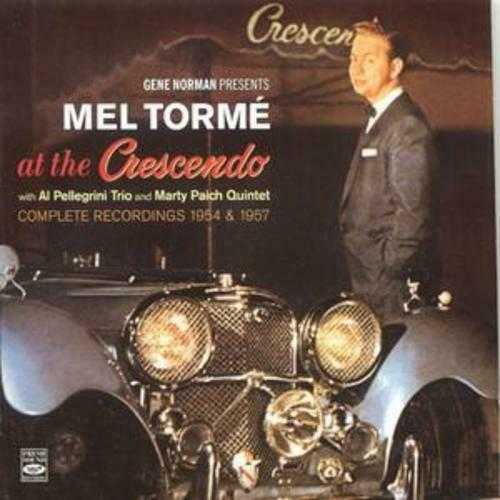 Mel Torme : At the Crescendo 1954 and 1957 [spanish Import] CD 2 discs (2008)