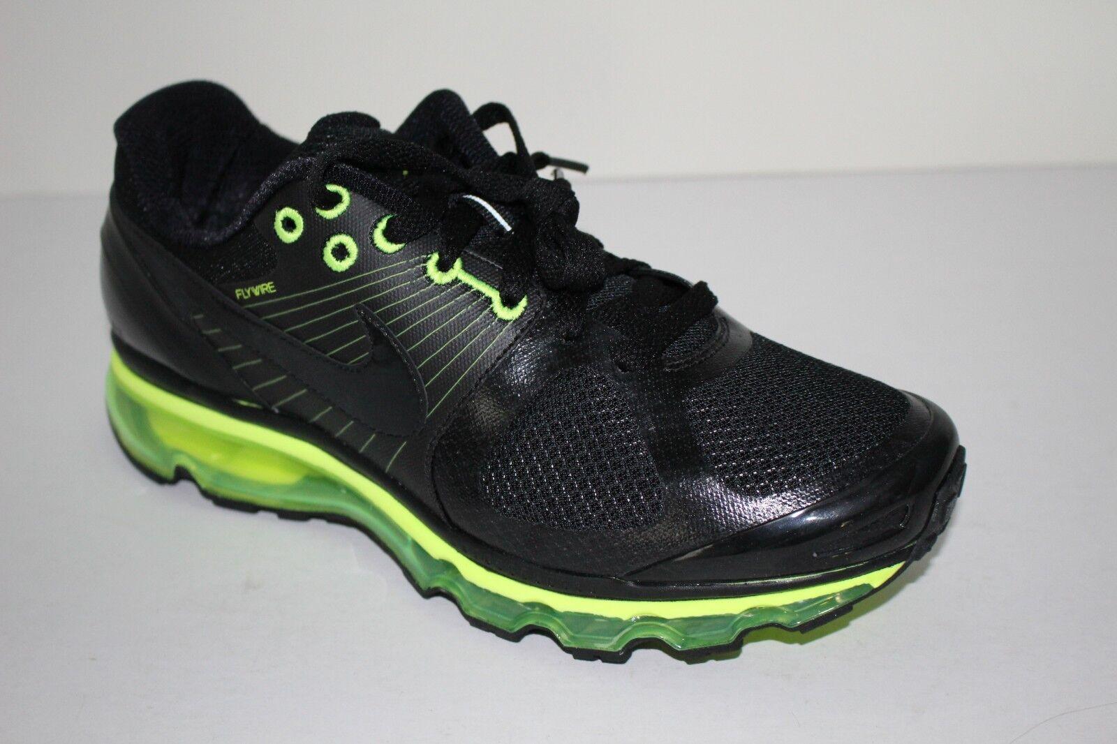 RARE Nike Air Max+ 2010 New Men's Sz 9.5 VOLT BLK Attack Pack Running 386368 008