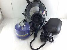 Mestel Safety SGE400 Gas Mask 40mm NATO w/DrinkingSystem & NBC Filter Exp 5/2022