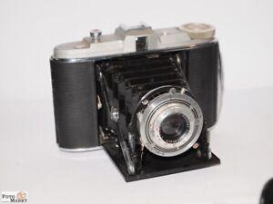 Agfa-Isolette-6x6-Kamera-Prontor-S-Verschluss-1-1-300-Sek-Objektiv-4-5-85-mm