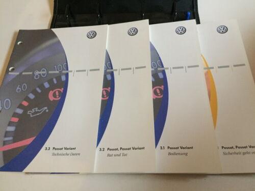 VW Passat Variant b5 manuale d/'uso 2004 manuale di istruzioni bordo cartella BA