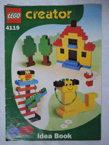 Instruction Creator 4119   ungelocht  Ideenbuch LEGO Bauanleitung