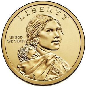 2019 P Native American Sacagawea BU Dollar US Mint Coin