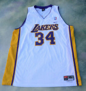 b21f3a2c6a3 Nike NBA Los Angeles Lakers Shaquille O Neal  34 Jersey Size XL.