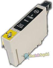 Black T0711 Cheetah Ink Cartridge (non-oem) fits Epson Stylus SX515W SX600FW