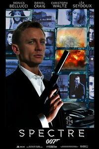 025 Spectre 2015 Film 007 James Bond Daniel Craig Movie 24 Quot X36 Quot Poster Ebay