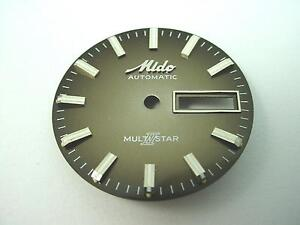Mido-automatic-Multi-Star-Bronze-Vintage-Watch-Dial-28-51mm-Day-amp-Date-Window