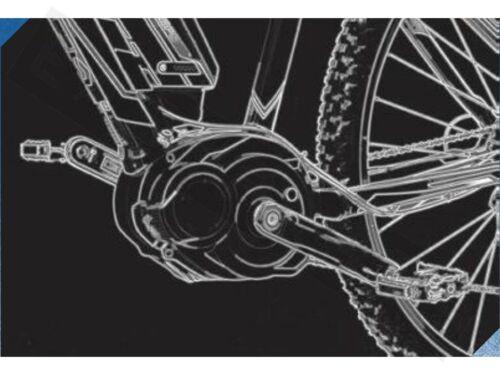 CX Motor Performance Line Tuningmodul Polini Hi-Speed E-Bike Bosch Active Line