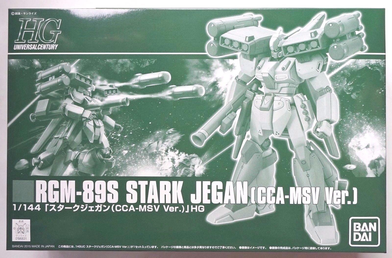 BANDAI HGUC 1 144 RGM-89S Stark Jegan CCA-MSV Premium Bandai Bandai Bandai limited model kit dff3db