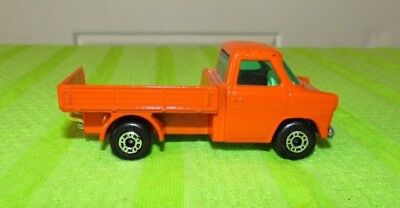 Made in England Orange Toy Pick Up Truck Fathet/'s Day Collectible Toy Car Neutral Toys 66 Ford Transit 1977 Matchbox Superfast No