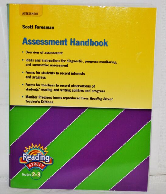 Scott Foresman Reading Street Assessment Handbook Grades 2 3