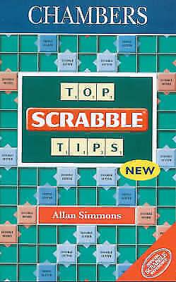 """AS NEW"" Simmons, Allan, Top Scrabble Tips, Paperback Book"