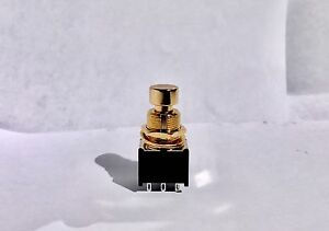 image is loading new-gold-3pdt-stomp-box-foot-switch-guitar-