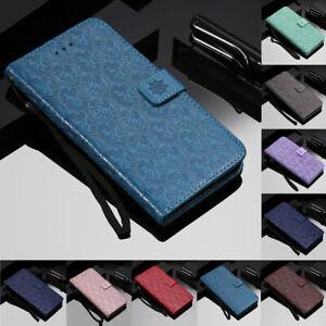 Pour-Samsung-Galaxy-A20E-A50-M30-Magnetique-Flip-Stand-Carte-Portefeuille-Cuir-Housse