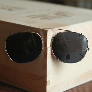 cd8b64062be Johnny Depp Clip-on Sunglasses Lens Round Polarized Flip-up Sunglass ...