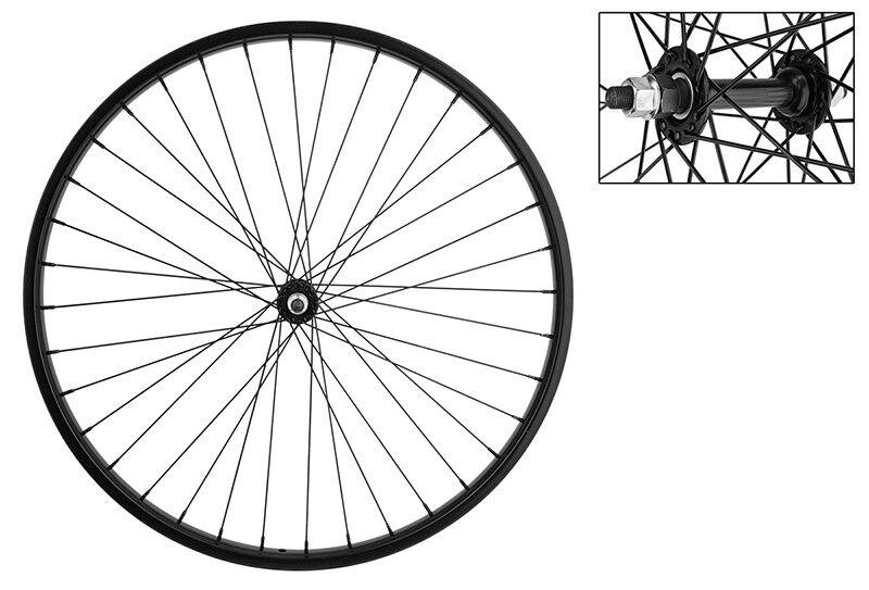 WM Wheel  Front 26x1.75 559x25 Stl Bk 36 Stl Bo 3 8 Bk 14g Bk