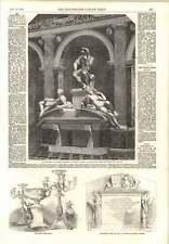 1854 monumento de Lorenzo de Medici monumento Dr Butler grada Iglesia