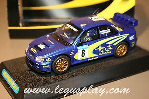 Slot-SCX-Scalextric-Superslot-H2491-Subaru-Impreza-WRC-N-8-2003-Makinen-New