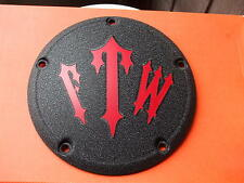 HARLEY DERBY COVER (  FTW - off )  TOURING, SOFTAIL, WRINKLE  & CUSTOM MADE