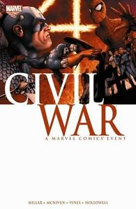 Civil-War-Marvel-Graphic-Novel-Brand-New