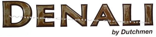 "Dutchmen DENALI RV Word Logo  Lettering decal Graphic  39/""x7/"" MADE FRESH!"