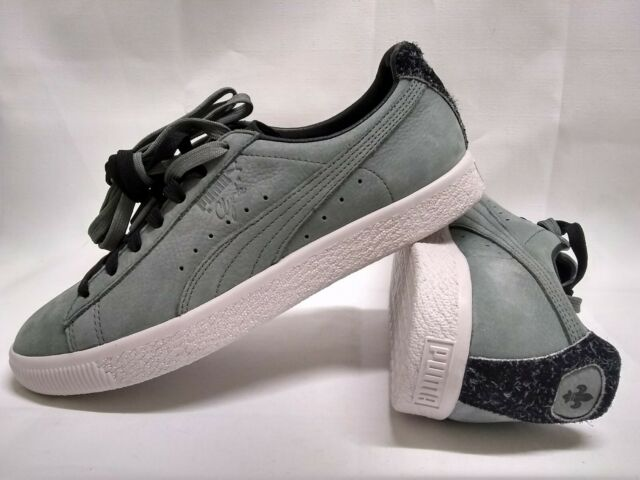 on sale 8ffcb 6ec5f New Puma Clyde X En Noir Collection Olive 364494-02 Unisex Limited