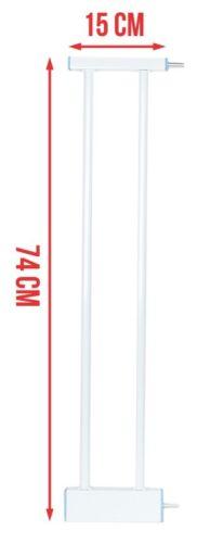 Erweiterung Baby Schutzgitter Absperrgitter 7 15 28cm Baby Treppengitter  #201