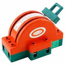 100a Disconnect Knife Switch 2 Pole Circuit Breaker Backup Generator Orange