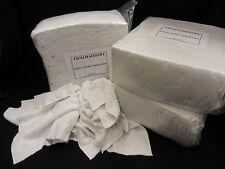 60 X 8 Kg Bianco tessuti a spugna pulizia Stracci / TERGICRISTALLI stampa IMBALLATO BAG