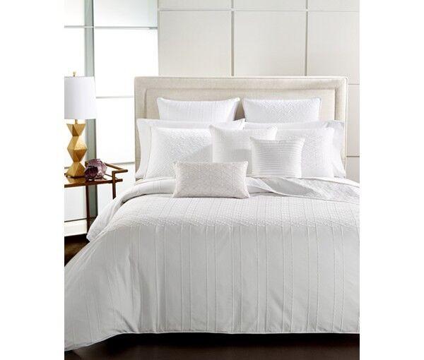 Hotel Collection Embroiderot Sonnet Weiß König Duvet Comforter Startseite