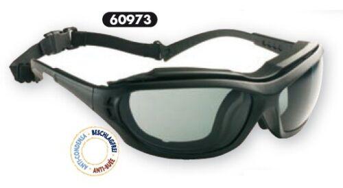 Schutzbrille Madlux Schwarz//Farblos Anti-Beschlag