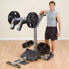Body Solid Leverage Squat Calf Raise Machine GSCL360 PLATE LOADED