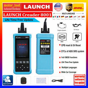 Details about Launch CR8001 Car OBD2 Scanner tool Auto Diagnostic Code  Reader Tool Oil Engine