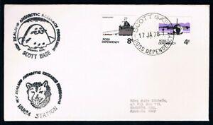 ROSS-DEPENDENCY-1978-Cancelled-Scott-Base-Cachets-Scott-Base-Vanda-Stn