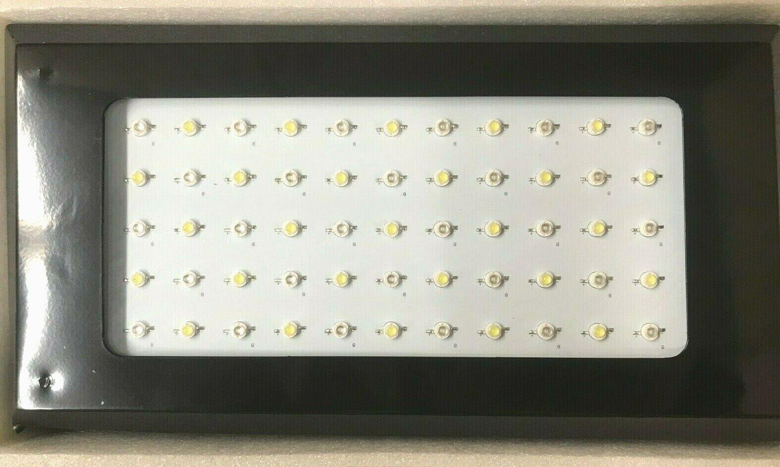 120W (55x3W) Luz LED de Acuario, Regulable, alto flujo y penetración brillo profundo