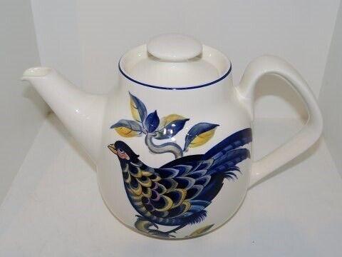 Porcelæn, Blå Fasan  Kaffekande, Blå Fasan  Kaffekande