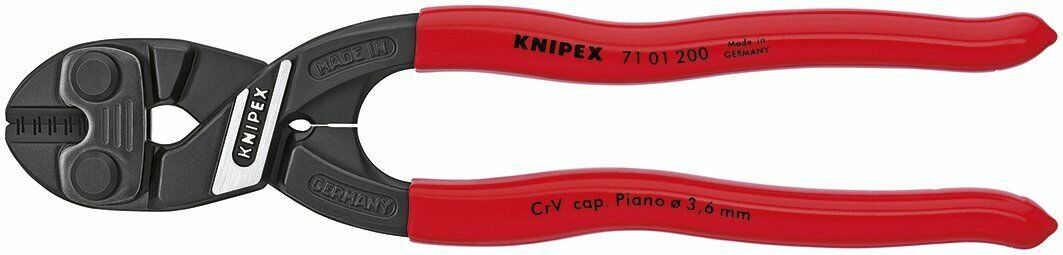 Knipex 71 01 200 8-Inch Lever Action Mini-Bolt Cutter