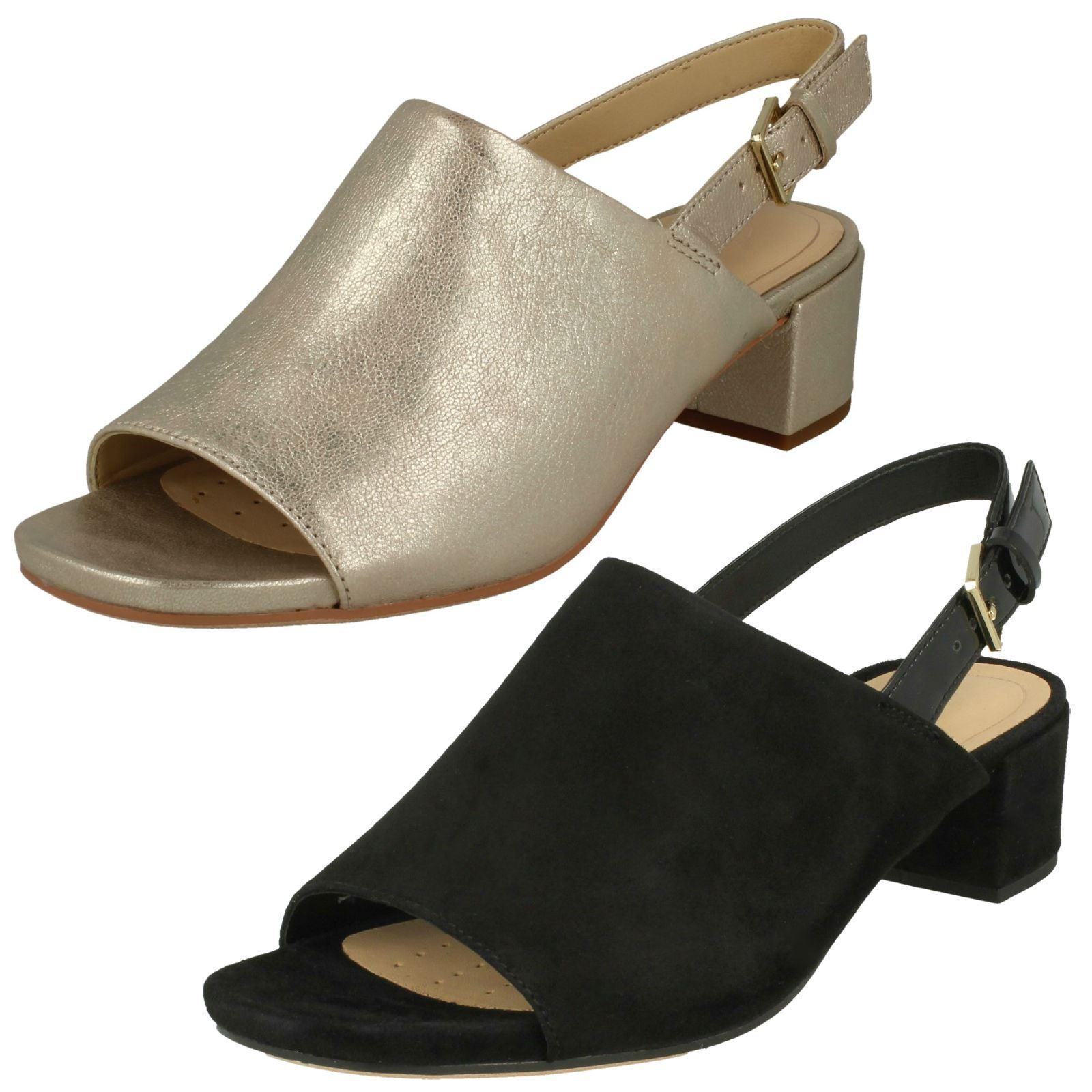 Sandalo Donna Clarks Aperti Sul con Retro Retro con Sandalo con Sul tacco   662542