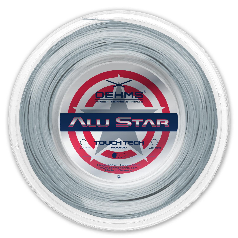 OEHMS OEHMS OEHMS  ALU STAR TT  Co-Poly Tennissaite, Tennis String, 200m 045a18