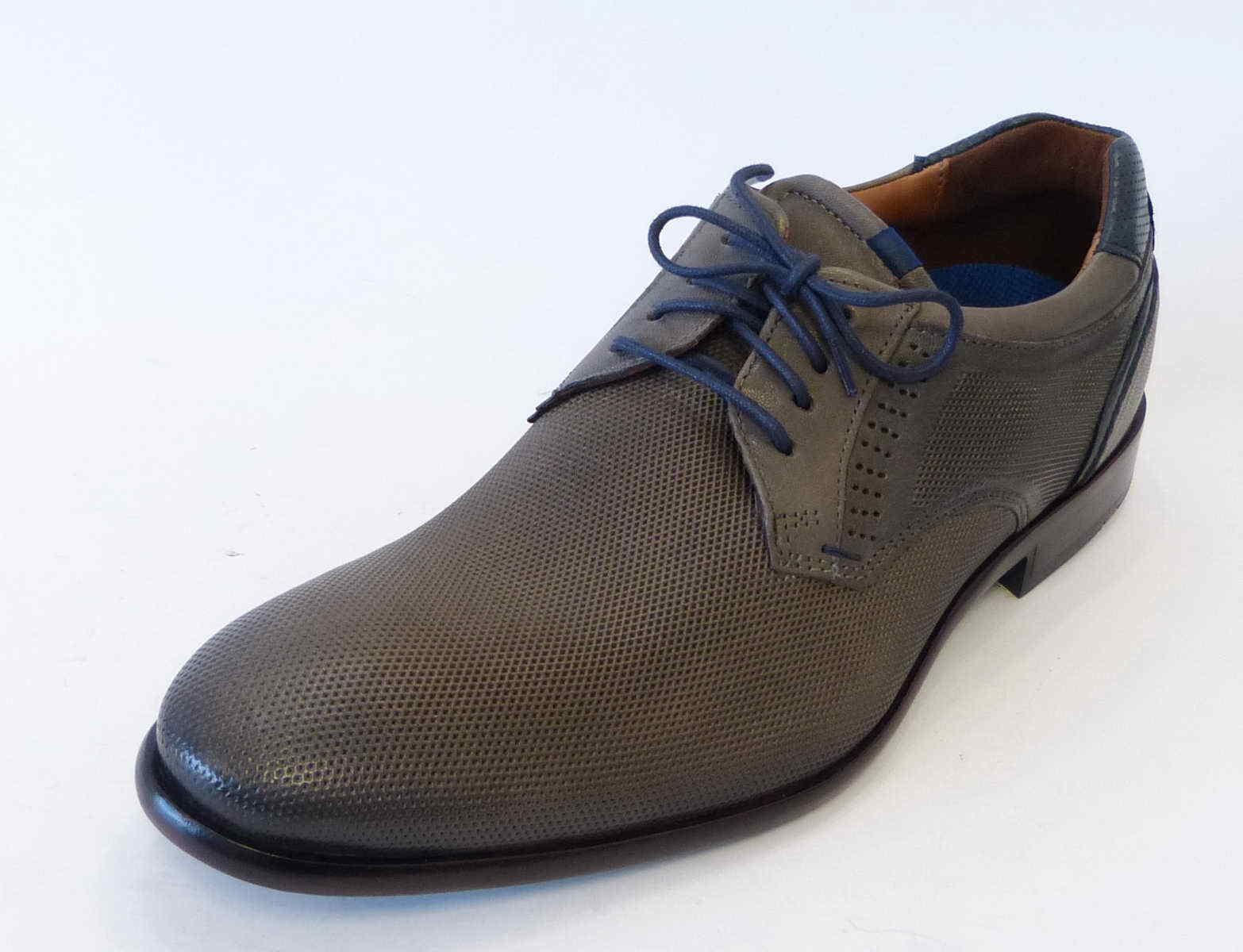 Lloyd Business con cordones 18-220-12 zapato Marshall xmotion grafito gris 18-220-12 cordones cuero 1e8027