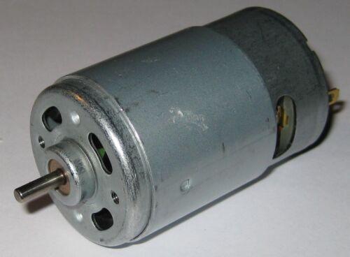17,000 RPM 75 Watt 12 VDC High Speed Hobby Motor // Generator 550 Frame