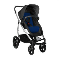 Phil&teds Smart Lux Stroller In Cobalt Color Brand 21 Riding Positions
