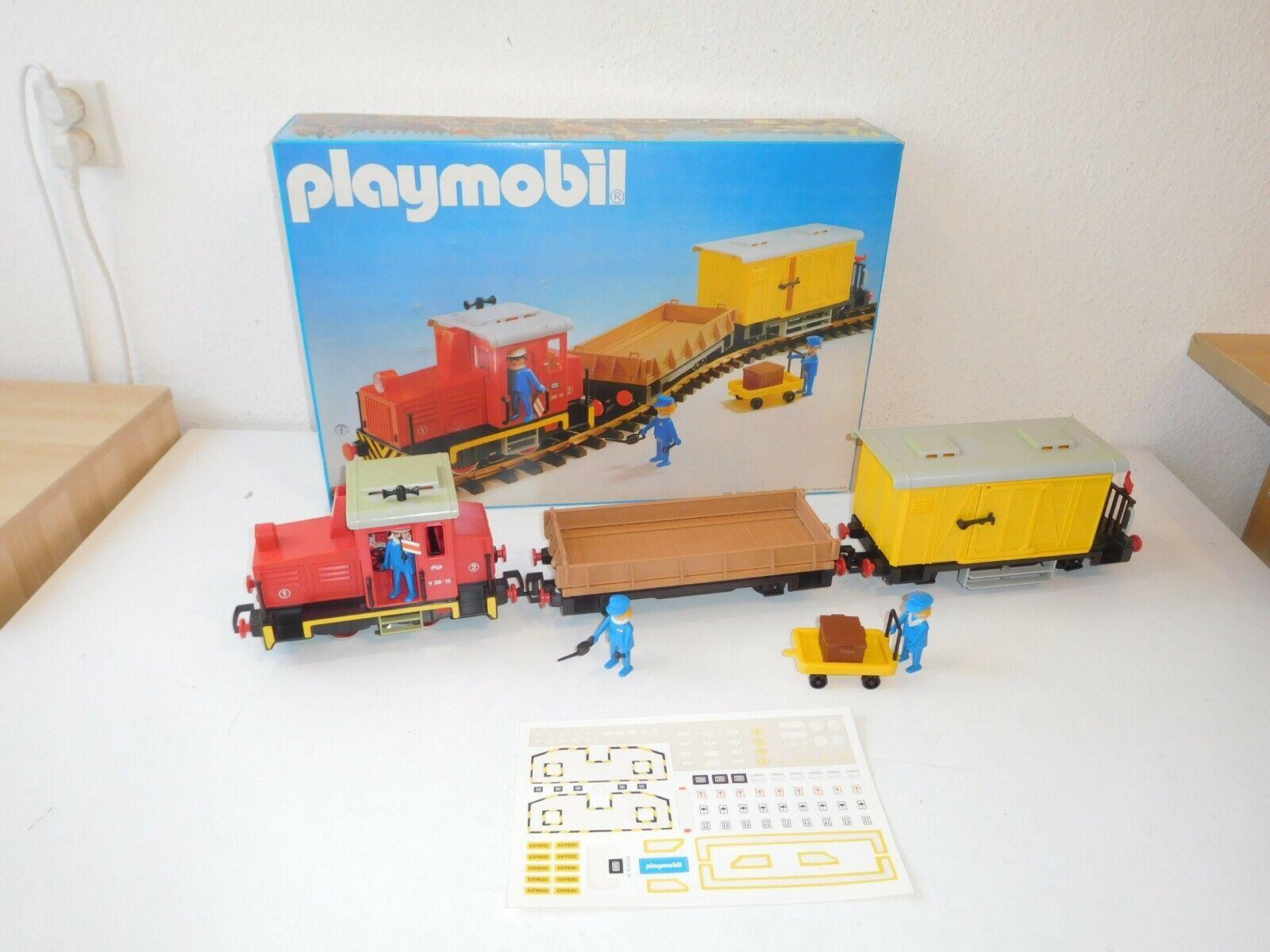 PLAYMOBIL 4025 Treno  Train Set OVP  disponibile