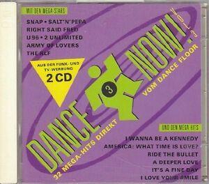 Dance-Now-3-1992-U-96-LDC-Clivilles-amp-Cole-Snap-KLF-2-Unlimited-2-CD