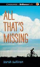 All That's Missing, Sullivan, Sarah, New Books
