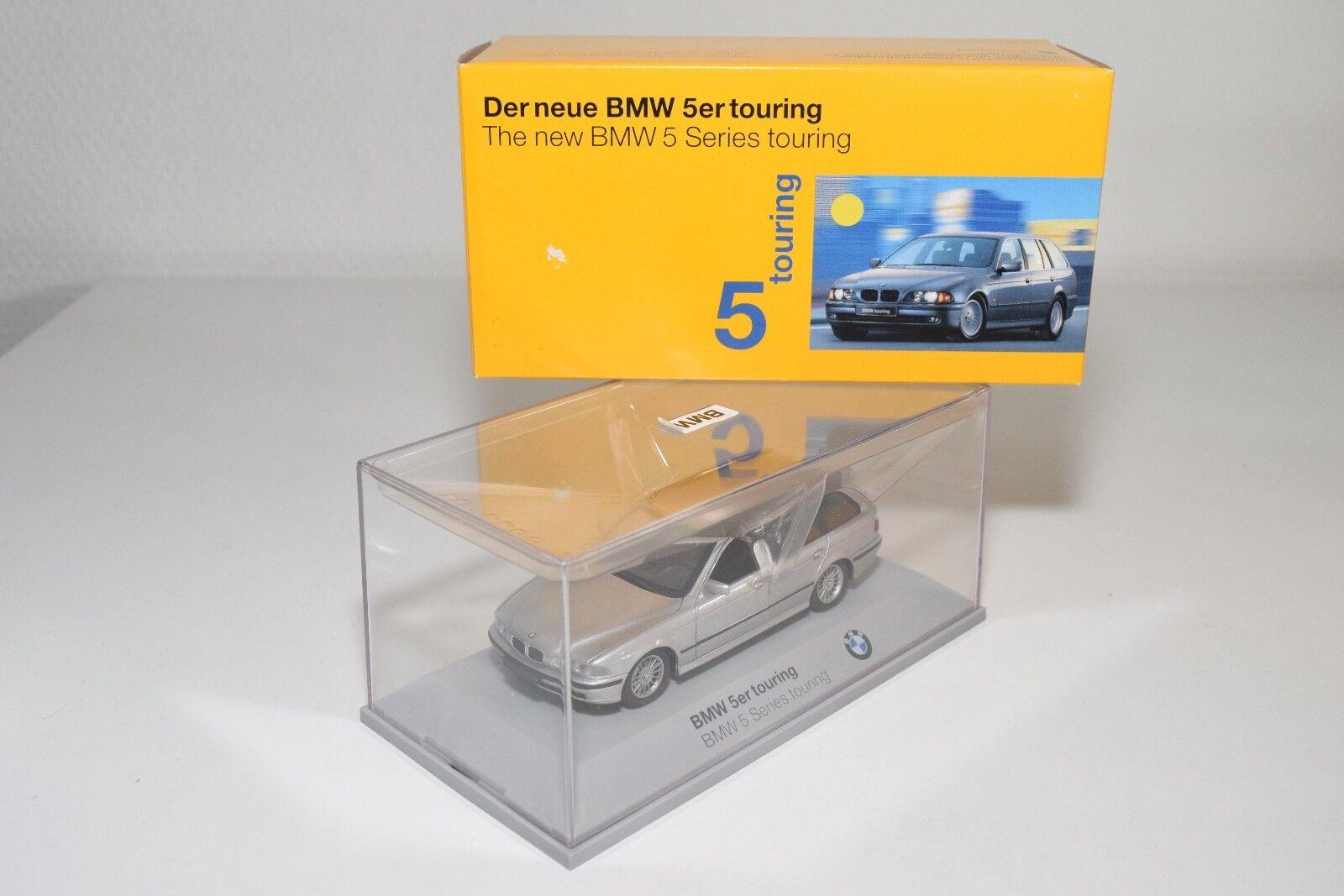 M SCHUCO BMW 5ER 5 SERIES E39 TOURING MET. grigio MINT BOXED