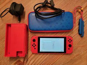 Nintendo Switch MARIO RED & BLUE EDITION Console Bundle Red Joy-Con